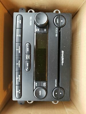 04 09 FORD Mustang Shaker 500 Stereo MP3 6 CD Disc Changer Player O 10500