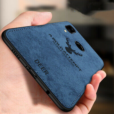 $2.98 • Buy For Xiaomi Redmi Note 7 Case Fabric Cloth Leather Soft Silicone TPU Hard Cover