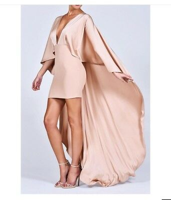 £115 • Buy Dolls House Gold Mini Dress With Cape