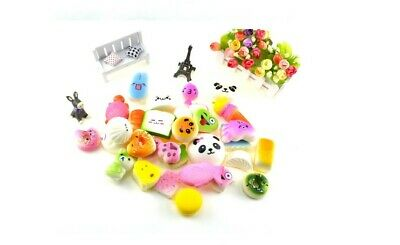 AU29.95 • Buy 20 X Squishy Squeeze Realistic Slow Rising Charms Collection Stress Relief Toy