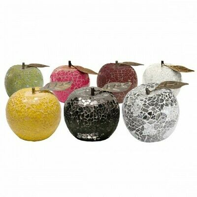 £8.35 • Buy Mosaic Glass Apples - Choose Colours - Great Focal Point For Rooms