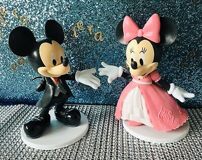 £18.99 • Buy Disney Mickey And Minnie Wedding   Large Cake Toppers