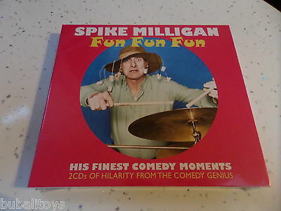 Spike Milligan - Fun Fun Fun 2 X CD 2013 Sealed! NEW! Peter Sellers Peter Cook • 8.99£