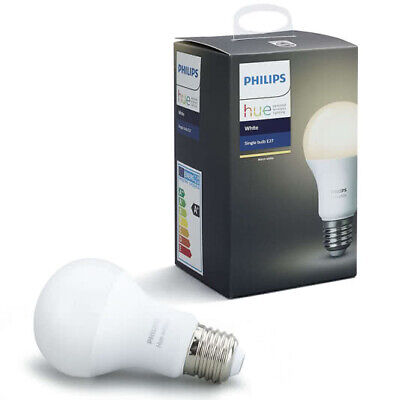 AU30 • Buy Philips - HUEWHTBULB-E27 - Hue White - Single Bulb E27