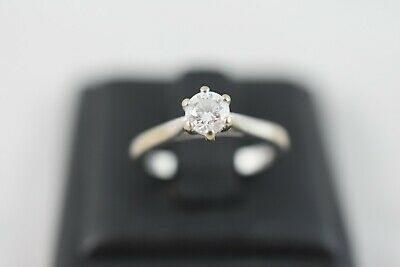 AU1799 • Buy Ring Ladies18ct White Gold Diamond Solitaire Engagement Dress Ring
