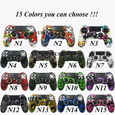 AU7.34 • Buy Anti Slip Camo Silicone Cover Skin Case For Sony PlayStation 4 PS4 Controller