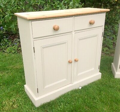 Beautiful Vintage Pine Cabinet Painted Annie Sloan Shabby Chic • 145£