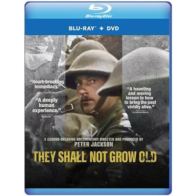 $24.99 • Buy They Shall Not Grow Old (Blu-ray + DVD) Peter Jackson Documentary New!