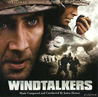 JAMES HORNER - Windtalkers[Film Soundtrack] -Inc Film Clips+Interview-NEW CD • 14.99£