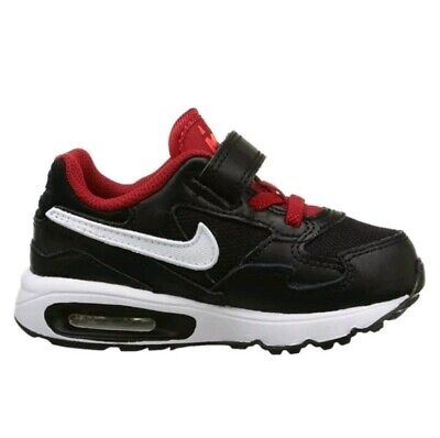 7ad41b4fc4999 NEW Nike Air Max ST Toddler Boy s 8C Athletic Shoes 654289 008 Black White