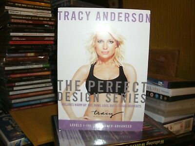 £9.99 • Buy Tracy Anderson Perfect Design Series - Sequence 1-3 (DVD, 2013) 3 DVD SET