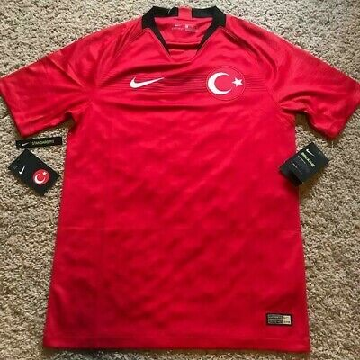 927159b2c90 Nike Men s Turkey Stadium Home Soccer Football Jersey Size S NWT  90 Retail  • 27.99