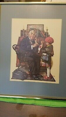 $ CDN82.47 • Buy Norman Rockwell Framed Paper Lithograph (1972)