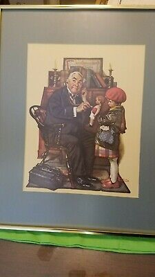 $ CDN78.95 • Buy Norman Rockwell Framed Paper Lithograph (1972)