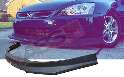 Hc1 Carbon Print Style Front Lip For 2006 2007 Honda Accord Coupe Nonv6 64 98