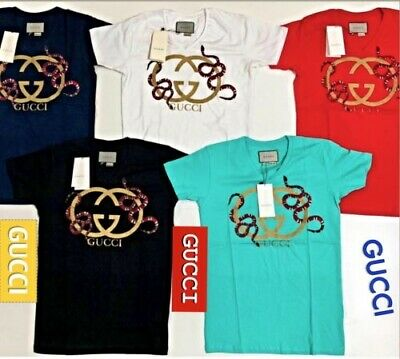 e21becb91d5 Gucci Mens T-Shirts Brand New With Tags Free Shipping Trusted USA Seller •  41.90