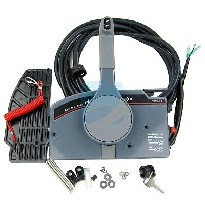 AU239.99 • Buy Boat Remote Control Box With 10Pin Cable Push Throttle For YAMAHA Outboard Motor
