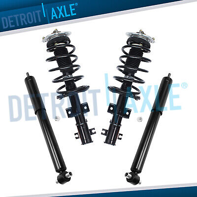 $208.49 • Buy FRONT Struts + REAR SHOCKS Absorbers For FWD Volvo V70 S80 S60 NO Four-C