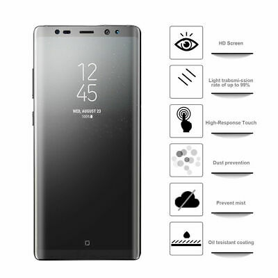 $ CDN4.94 • Buy Samsung Galaxy S9/S9+ Plus Matte/HD Clear Screen Protector Edge-to-Edge Dry Inst