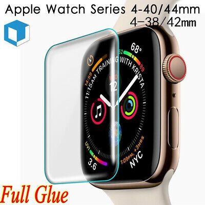 $ CDN2.94 • Buy Apple Watch IWatch Series 1 2 3 4 3D Full Cover Tempered Glass Screen Protector!