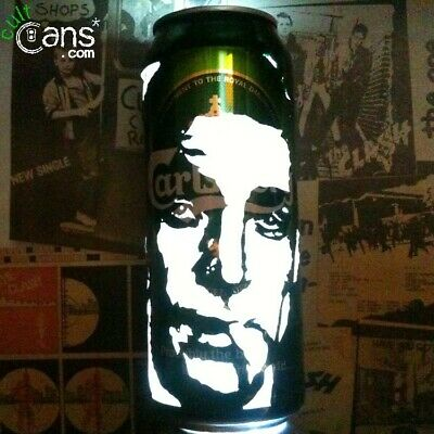 $19.30 • Buy Sean Connery 'James Bond' Beer Can Lantern! 007 Pop Art Portrait Candle Lamp