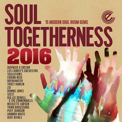 Soul Togetherness 2016 15 Modern Soul Room Gems New & Sealed Cd (expansion) • 12.99£