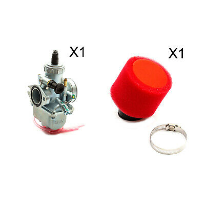 AU55.23 • Buy Pit Quad Bike 26mm Molkt Carburettor Red Foam Filter YX140cc YX150cc YX160cc ATV