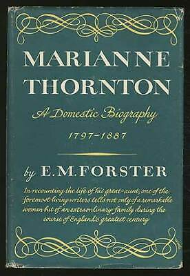 £14.49 • Buy E M FORSTER / Marianne Thornton A Domestic Biography 1797-1887 1st Edition 1956