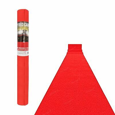 £8.71 • Buy 15ft Hollywood VIP Red Carpet Aisle Prom Night Party Floor Runner Decoration