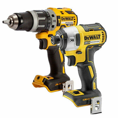 $210.67 • Buy Dewalt DCF887N 18V Brushless Impact Driver With DCD796N Combi Drill Twin Pack