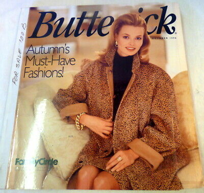 $44.65 • Buy Vintage Butterick Pattern Book Large Store Counter Catalog 1996 Fashions