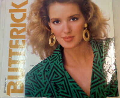 $49.40 • Buy Vintage Butterick Pattern Book Large Store Counter Catalog 1987 Fashions