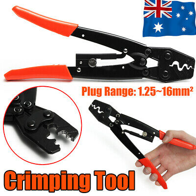 AU17.49 • Buy 1.25-16mm² Wire Crimper Cable Plier Terminal Anderson Plug Lug Crimping Tool AU