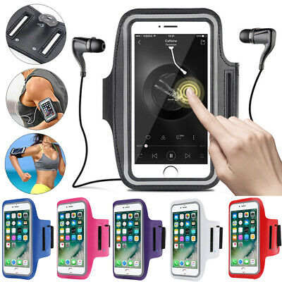 Sports Running Jogging Gym Armband Strap Case Holder Key Bag For Mobile Phones • 4.15£