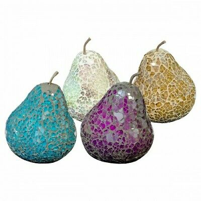 £6.95 • Buy Mosaic Glass Pears (without Leaf)- Choose Colours - Great Focal Point For Rooms
