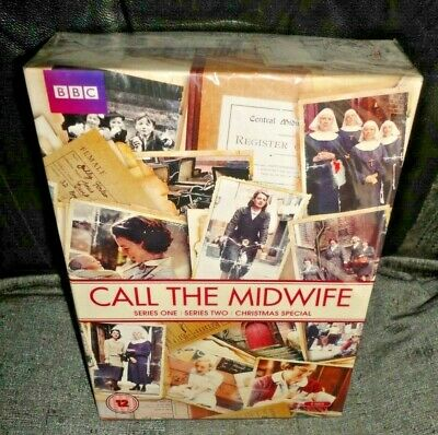 Call The Midwife Series 1 & 2 + Christmas Special (DVD, 2013, 6-Discs) SEALED • 9.99£