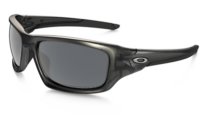 AU179.95 • Buy POLARIZED New OAKLEY VALVE Matte Grey Smoke Iridium Wrap Sunglasses OO 9236 06