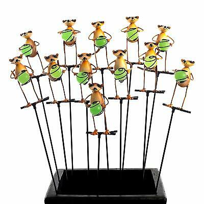 £19.99 • Buy Illumie Cuttie Garden Stakes 12x Glow In The Dark Hand Painted Pot Ornaments
