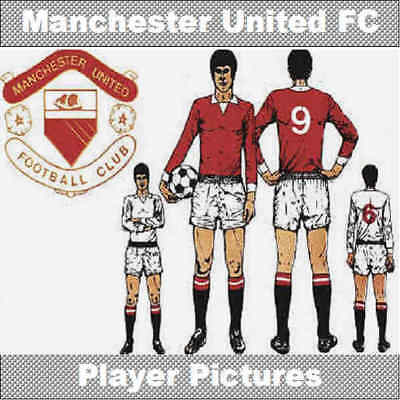 £2.70 • Buy Player By Player Manchester United Football Footballers Picture Various Seasons