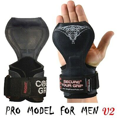 £25.14 • Buy Cobra Grips PRO Weight Lifting Straps Power Lifting Grips More Versatility Glove