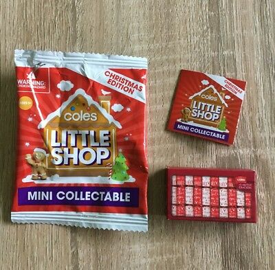 $2.77 • Buy Coles Little Shop Christmas Edition Mini Collectable - 10 Festive Crackers 'NEW'