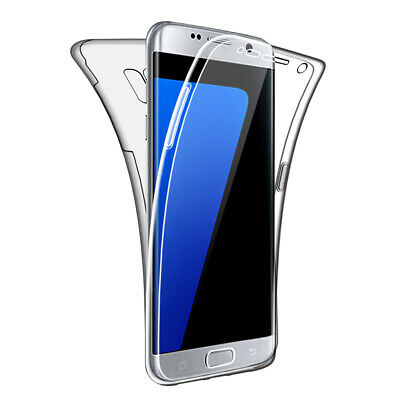 $ CDN6.85 • Buy Case For Samsung Galaxy S7 Edge Full Body 360 Cover Silicone Front And Back