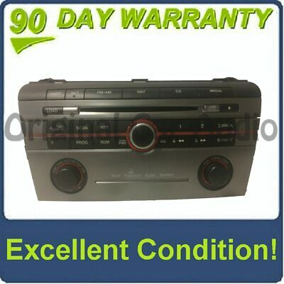 $66.56 • Buy 2005 - 2008 MAZDA 3 Radio Stereo 6 Disc Changer CD Player W/out Trip Display
