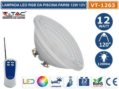 £77.12 • Buy Lamp Light LED PAR56 12W RGB 12V With Remote Control Wireless For Pool IP68