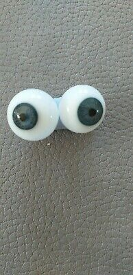£11 • Buy Seconds Glass Blown Doll Eyes In Blue Grey In Various Sizes