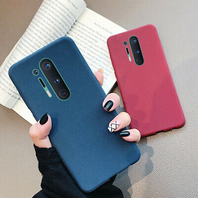 AU4.68 • Buy Matte Sandstone Slim Case For OnePlus Nord 8 Pro 7 7T Pro 6T 6 5T Soft TPU Cover