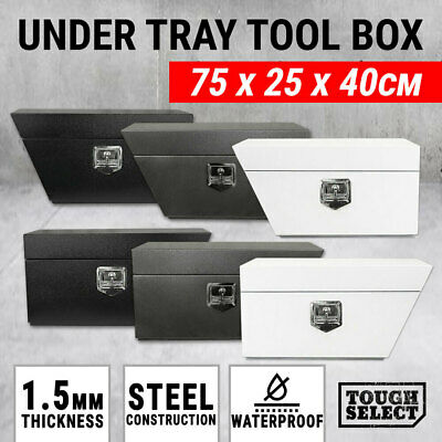 AU124.95 • Buy Under Tray Tool Box Ute Steel Toolbox Truck Trailer Undertray Underbody