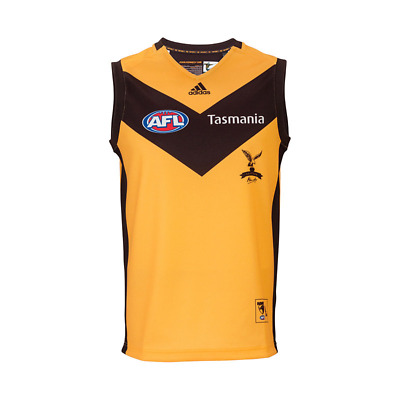 AU89.95 • Buy NEW Official 2020 Hawthorn Hawks Mens Away Guernsey
