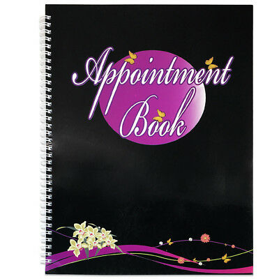 4 Columns Salon Beauty & Nails Appointment Schedule Planner Organizer Book • 11.52£