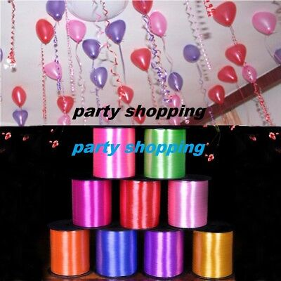 BALLOON 60 Meter CURLING RIBBON FOR PARTY GIFT TIE WRAPPING BALLOONS STRING NEW • 1.99£